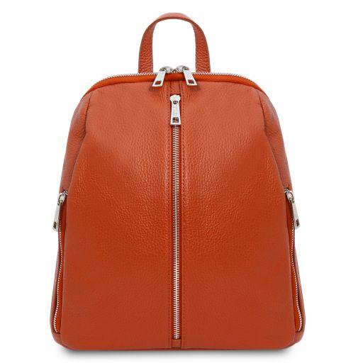 TL Bag Soft leather backpack for women Brandy TL141982
