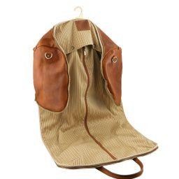 Antigua Borsone da viaggio/Porta abiti in pelle Naturale TL141538