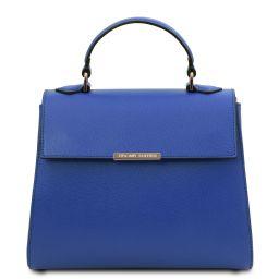 TL Bag Bolso a mano pequeño en piel Azul TL142051