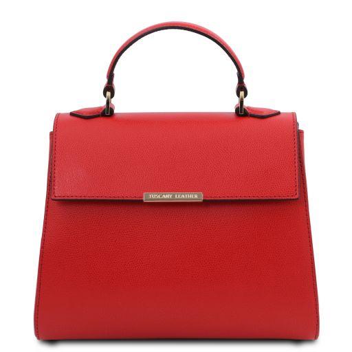 TL Bag Bauletto piccolo in pelle Rosso Lipstick TL142051
