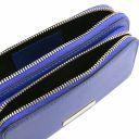 TL Bag Leather fanny pack Blue TL141999
