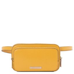 TL Bag Leather fanny pack Yellow TL141999