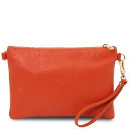 TL Bag Soft leather clutch Brandy TL142029