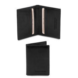 Exclusive leather card holder Черный TL142063