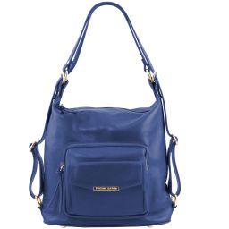 TL Bag Leather convertible bag Blue TL141535