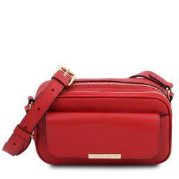 TL Bag Camera bag in pelle Rosso Lipstick TL142084