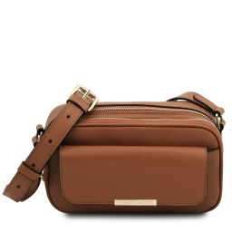TL Bag Camera bag in pelle Cognac TL142084