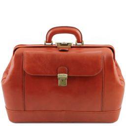 Leonardo Exclusive leather doctor bag Honey TL142072