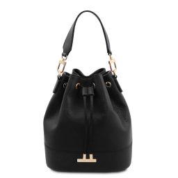 TL Bag Leather bucket bag Черный TL142083