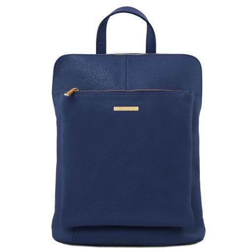 TL Bag Soft leather backpack for women Dark Blue TL141682