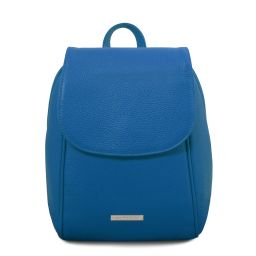 TL Bag Soft leather backpack Blue TL141905