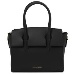 Brigid Leather handbag Черный TL141943