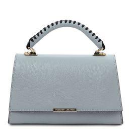 TL Bag Leather handbag Azure TL142111