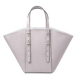 TL Bag Bolso Shopping en piel Blanco TL142123