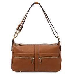 TL Bag Sac bandoulière en cuir Cognac TL142133