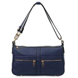 TL Bag Leather shoulder bag Dark Blue TL142133