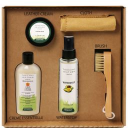 Leather care products complete set Colourless TL142139