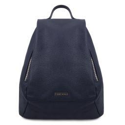 TL Bag Soft leather backpack for women Dark Blue TL142096