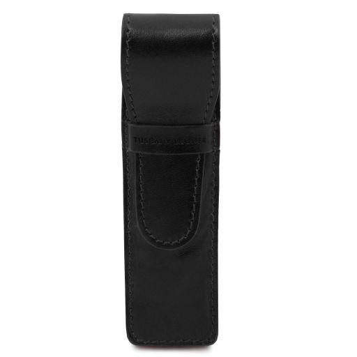 Esclusivo porta penne in pelle Nero TL142131