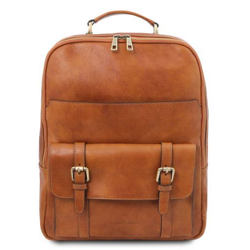 Nagoya Leather laptop backpack Honey TL142137