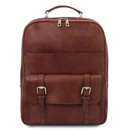 Nagoya Leather laptop backpack Brown TL142137