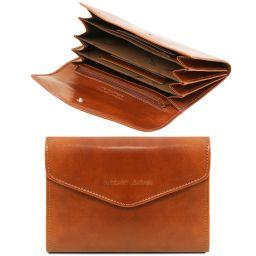 Эксклюзивный кожаный бумажник для женщин Мед TL140786