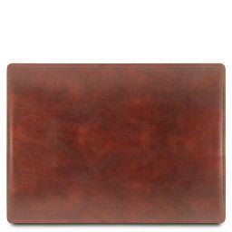 Sous-main de bureau en cuir Marron TL141892