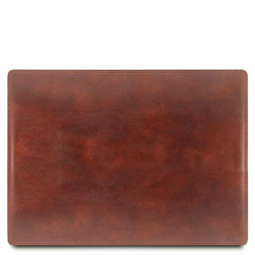 Almohadilla de escritorio de piel Marrón TL141892