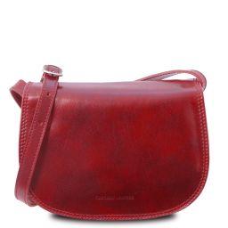 Isabella Sac bandoulière en cuir Rouge TL9031