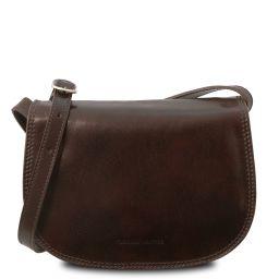 Isabella Женская кожаная сумка Темно-коричневый TL9031