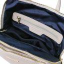 TL Bag Soft leather backpack for women Light grey TL141682