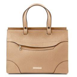 TL Bag Sac à main en cuir Champagne TL142079