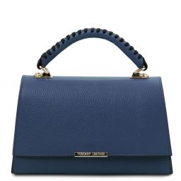 TL Bag Leather handbag Dark Blue TL142111