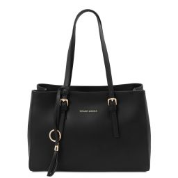 TL Bag Sac bandoulière en cuir Noir TL142117