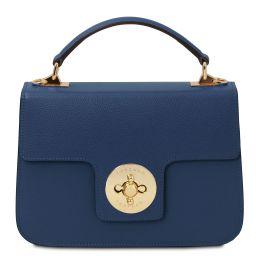 TL Bag Borsa a mano in pelle Blu scuro TL142078