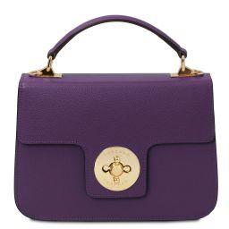 TL Bag Leather handbag Purple TL142078