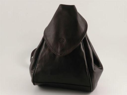 Manila Leather backpack Черный TL140444