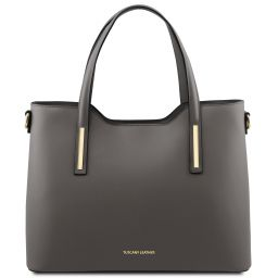 Olimpia Leather tote Серый TL141412