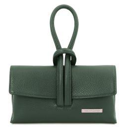 TL Bag Pochette in pelle Verde Foresta TL141990