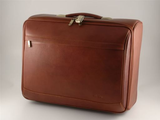 Stockholm Leather pilot case Brown FC14448
