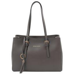 TL Bag Sac bandoulière en cuir Gris TL142037